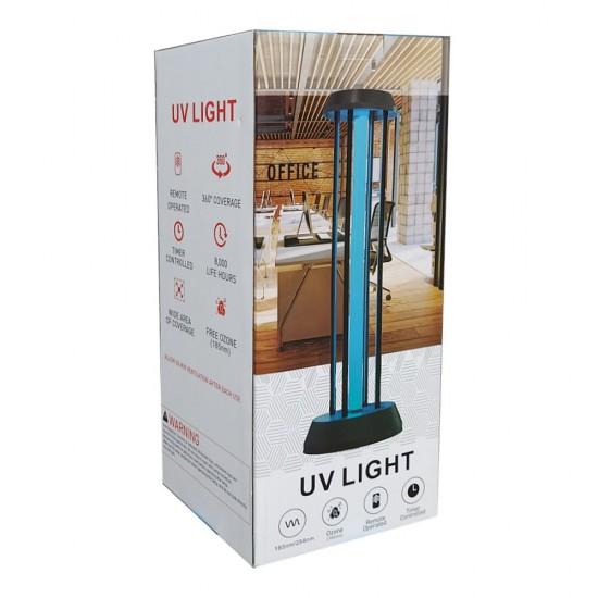 Lampa UV-C 38W pentru dezinfectie si sterilizare bactericida, virucida cu sau fara OZON